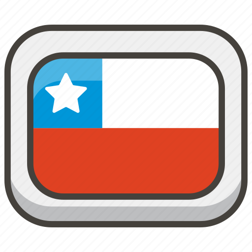 1f1e8, chile, flag icon