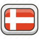 1f1e9, denmark, flag icon