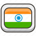 1f1ee, flag, india icon