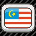 1f1f2, flag, malaysia icon