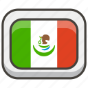 1f1f2, flag, mexico icon