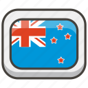 flag, new, zealand