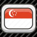 1f1f8, flag, singapore icon