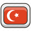 1f1f9, flag, turkey icon