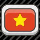 flag, vietnam