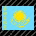 flag, flags, kazakhstan icon