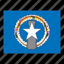 flag, flags, islands, mariana, northern icon