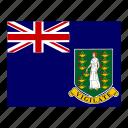 british, flag, flags, islands, virgin icon
