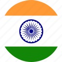country, flag, india, nation