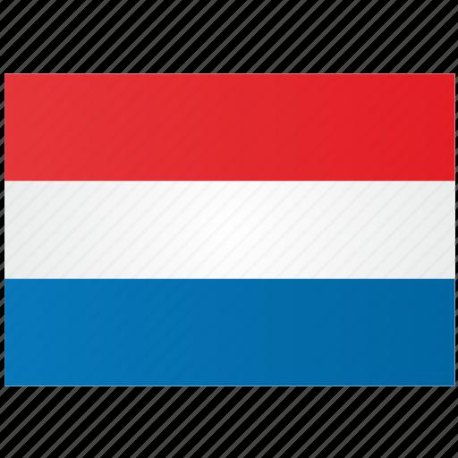 flag, holland icon