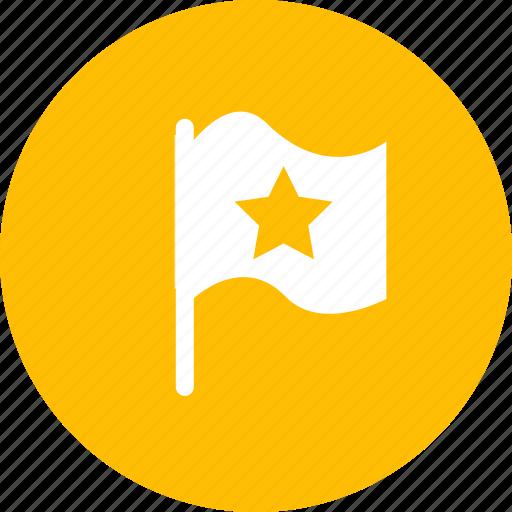favorites, flag, important, location icon