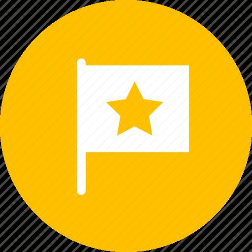favorites, flag, important, label, mark icon