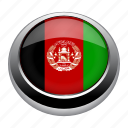 afghanistan, badge, country, flag, nation icon