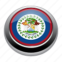 badge, belize, country, flag, nation, national icon