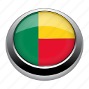 badge, benin, country, flag, nation, national icon