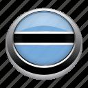 badge, botswana, country, flag, nation, national icon