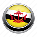 badge, brunei, country, flag, nation, national icon