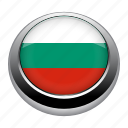 badge, bulgaria, country, flag, nation, national icon