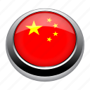 asia, badge, china, country, flag, nation, star icon