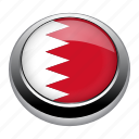 badge, bahrain, country, flag, nation, national icon