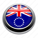 badge, cook, cook islands, country, flag, islands, nation icon