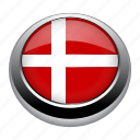 flag, country, nation, denmark, flags, circle