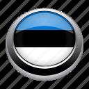 country, estonia, flag, flags, nation icon