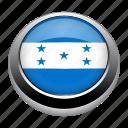 circle, country, flag, flags, honduras, nation icon