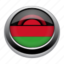 circle, country, flag, flags, malawi, nation icon