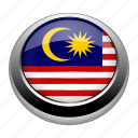 asia, country, flag, flags, malaysia, nation icon