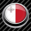 circle, country, flag, flags, malta, nation