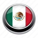 circle, country, flag, flags, mexico, nation icon