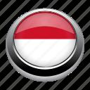 circle, country, flag, flags, monaco, nation icon