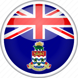 cayman, circle, country, flag, national icon