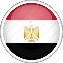 circle, country, egypt, flag, national icon