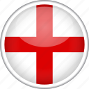 circle, country, england, flag, national icon