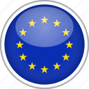 circle, country, european, flag, national