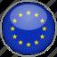 circle, country, european, flag, national icon