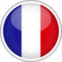 circle, country, flag, france, national