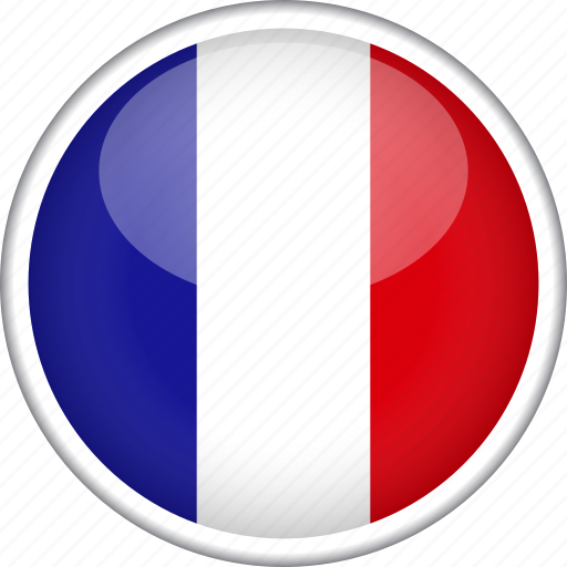 circle, country, flag, france, national icon
