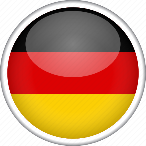 circle, country, flag, germany, national icon