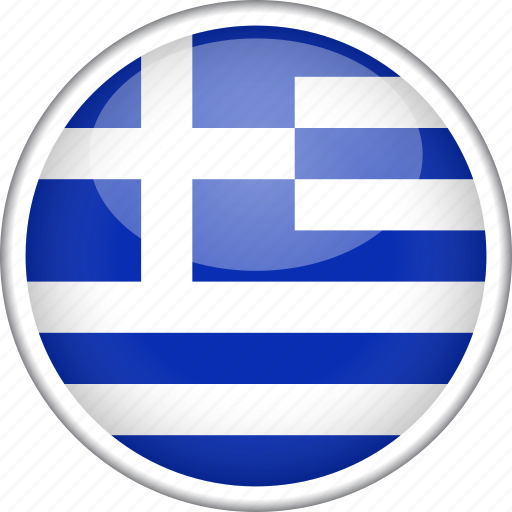 circle, country, flag, greece, national icon