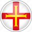 circle, country, flag, guernsey, national icon