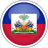 circle, country, flag, haiti, national icon