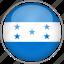 circle, country, flag, honduras, national icon