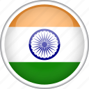 circle, country, flag, india, national