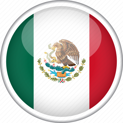 circle, country, flag, mexico, national icon