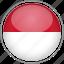 circle, country, flag, monaco, national icon