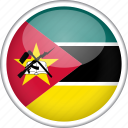 circle, country, flag, mozambique, national icon