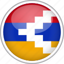 circle, country, flag, nagorno, national icon